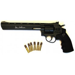 "Dan Wesson 8"" Noir pistolet CO2 Low Power"