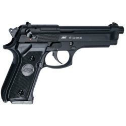 Pistolet a bille airsoft M92 F noir