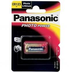 Pile CR123 Lithuim 3V Panasonic