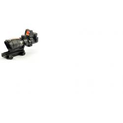 4x32 ACOG style fiber scope with mini red dot sight