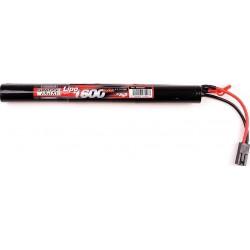 SWISS ARMS Lipo 11,1V 1600mAh 25C Round stick