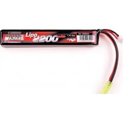 SWISS ARMS Lipo 7,4V 2000mAh 25C Stick