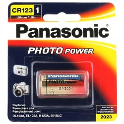 Pile CR123 Panassonic