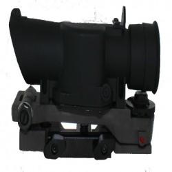 L85 SUSAT Type Tactical 4X Sight Rifle Shotgun Scope w/ Quick Detach weaverer Mount