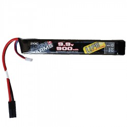 Batterie SWISS ARMS par Intellect LiFe 900mAh 20C 9.9V