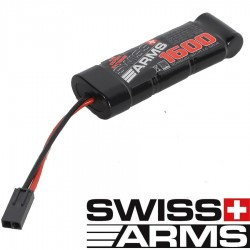 Batterie SWISS ARMS H Perf. NI-MH type mini 8,4V 1600mAh