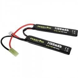Batterie PHANTOM Li-Po 7,4V 1100mah 2 sitcks 20C