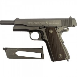 COLT M1911 Co2 BAX metal 6mm culasse mobile 17BB's