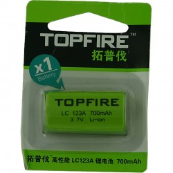 Pile Topfire LC 123 A 700 mAh