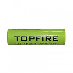 Pile Topfire LC 18650 2200 mah