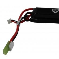 2600mah 7.4V 30C lipo battery nunchuck type with small tamiya