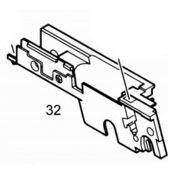 Front Chassis for KJW / ASG M1911 / KP-07