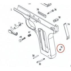 Lanyard Loop Nut for KSC / KWA TT-33