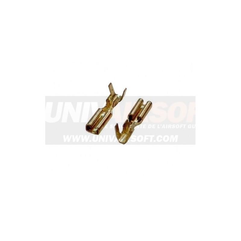 Motor connector plugs