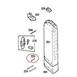 Pin N° 235 for KSC / KWA Glock