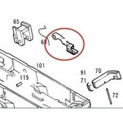 Slide Stop Lever Extended for KSC / KWA Glock