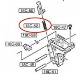 Disconnector Spring for Marui Glock 18C