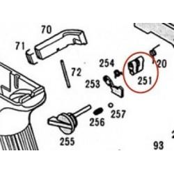 Hammer Reset Block for KSC / KWA Glock 18C