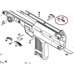 Right Selector Lever for KSC / KWA MP7