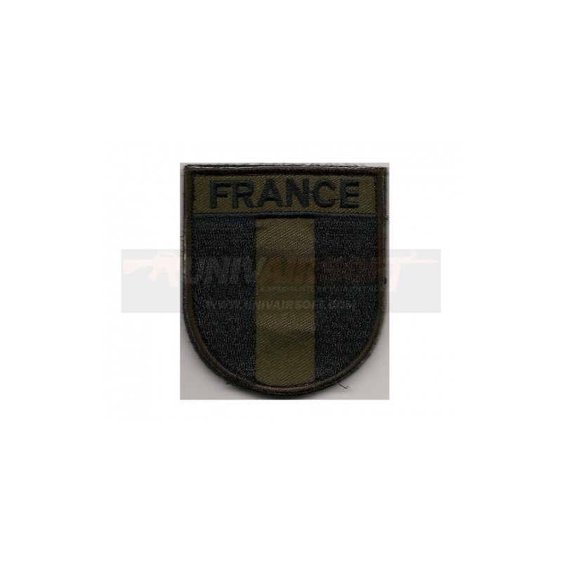 Patch Velcro France Basse Visibilité
