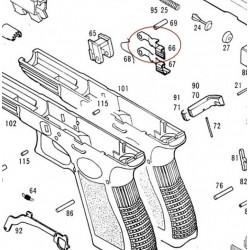Slide Stop Lever for KSC / KWA Glock