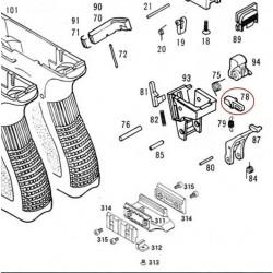 Impact Hammer Block for KSC / KWA Glock