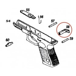 Magazine Catch for KJW / ASG CZ75 P09