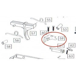 Part n°59 for WE M4 GBBR