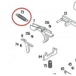 Trigger Spring for KSC / ASG MP9