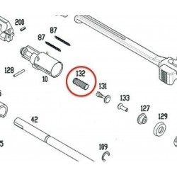 Plug Spring GK for KSC / ASG MP9