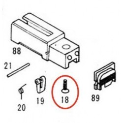 Breech Block Screw for KSC / KWA Glock