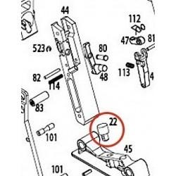 Main Guide Base Cushion for KWA Kriss Vector