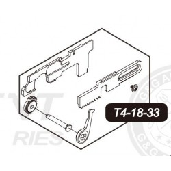 Ambidextrous Selector Plate for G&G TR4