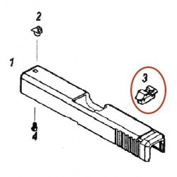 Rear Sight for KJW Glock