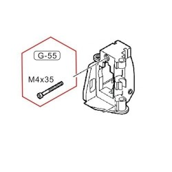 Screw Gearbox Support for G36
