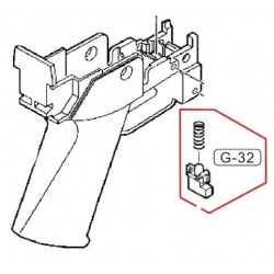 Bolt Lock Release for G36