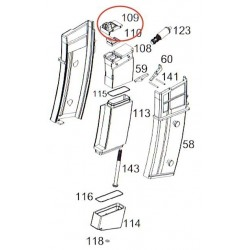 Magazine Gasket for WE G39