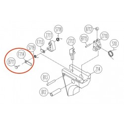 Firing Pin Catch for KWC KCB-12AHN / Sigma SW40