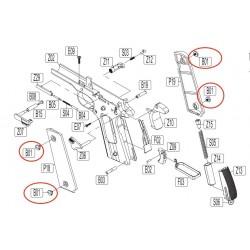 Grip Screws for KWC KCB-76 / M1911