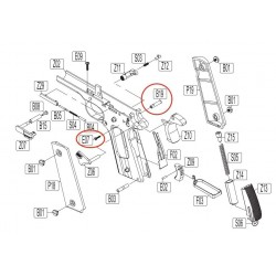 Chassis Pin for KWC KCB-76 / M1911