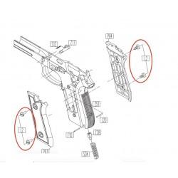 Grip Screws for KWC KCB-15 / PT92 / PT99