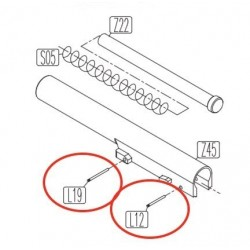 Outer Barrel Pins for KWC KCB-15 / PT92 / PT99