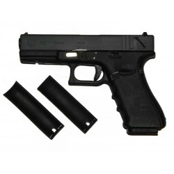 G18C Gen4, metal slide, GBB, black