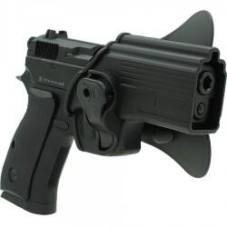 Holster, série modèles C75D, polymère
