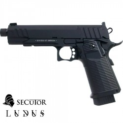 PISTOLET CO2 BLOW BACK LUDUS VI NOIR SECUTOR