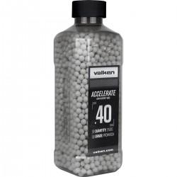 BBs - Valken ACCELERATE 0.40g 2500ct-White