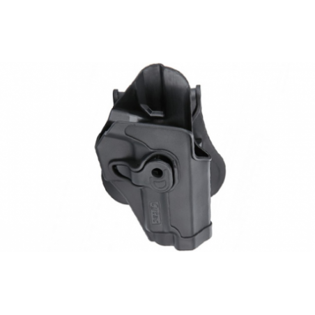 Holster polymer paddle droitier noir pour Sig SauerSP2022