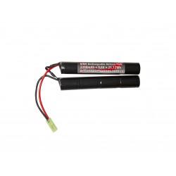 Batterie ASG 9,6v 2200mAh 21,12Wh NiMH