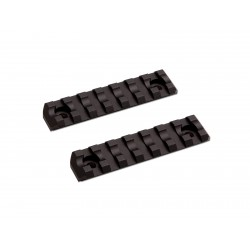 M-Lok Rail Short 7 slots 2 pcs/set ASG