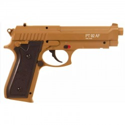 CYBERGUN PT92 TAN Co2 BAX 6mm tout metal 15BB's 0,9 J